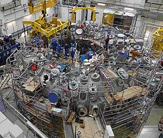 Wendelstein 7-X experimental fusion reactor