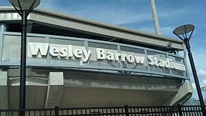 Wesley Barrow Stadium - Image: Wesley Barrow Stadium (New Orleans)
