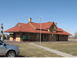 West Liberty train depot view from Elm Street.jpg