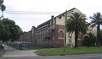 West Ryde, New South Wales - West Ryde pumping station, Victoria Road (1890)