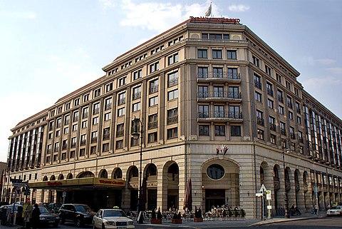 Westin Hotel Berlin Friedrichstra Ef Bf Bde
