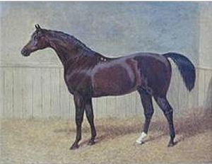 Whalebone (horse) - Whalebone in a painting by John Frederick Herring, Sr., c. 1820