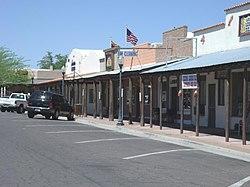 In Wickenburg Arizona Wickenberg Frontier Street Jpg