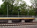 Wickford Junction platform, May 2012.JPG
