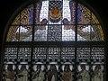 Wien, Kirche am Steinhof, Fenster Die geistigen Tugenden 2014-08 (2).jpg