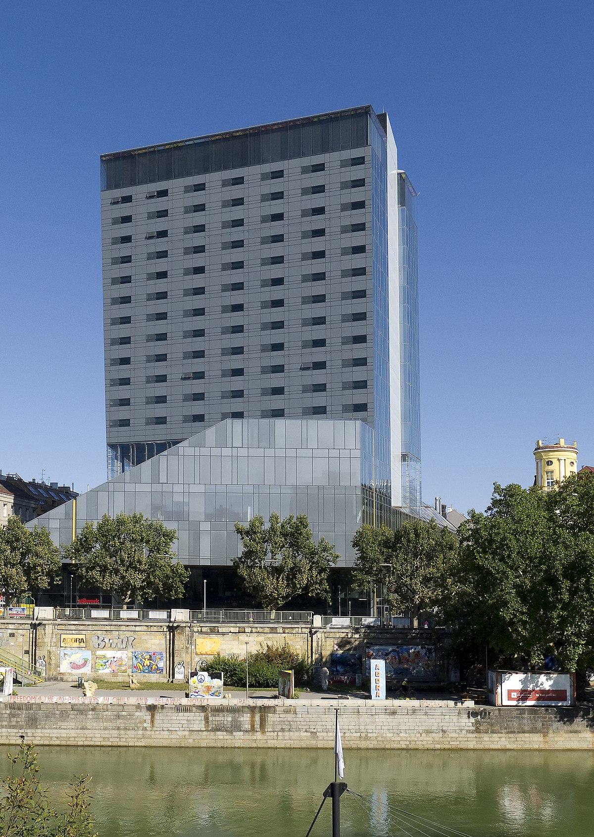 Design tower wikipedia for Design hotel wien