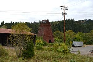 Beehive burner - Image: Wigwam Burner (Drain, Oregon)