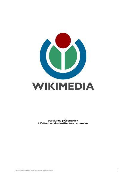 File:Wikimédia - Dossier de présentation pour GLAM.pdf