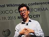 Wikimanía 2015 - Day 4 - Luis von Ahn conference - LMM (12).jpg