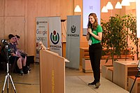 Wikimedia Hackathon Vienna 2017-05-19 opening 07.jpg
