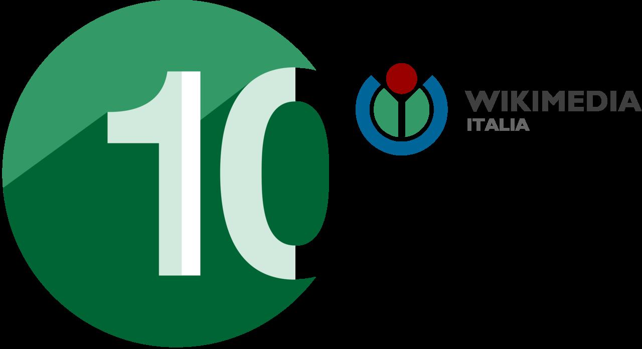 File Wikimedia Italia 10th Anniversary Logo Hi Png