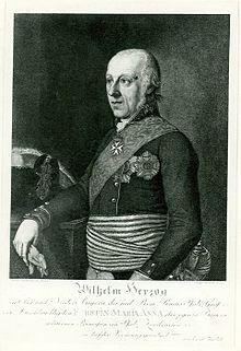 Hertog Wilhelm in Beieren, overgrootvader van Elisabeth.