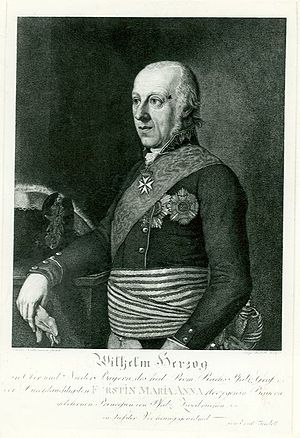 Duke Wilhelm in Bavaria - Image: Wilhelm in Bayern