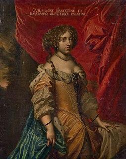 Princess Wilhelmine Ernestine of Denmark Electress consort of the Palatinate