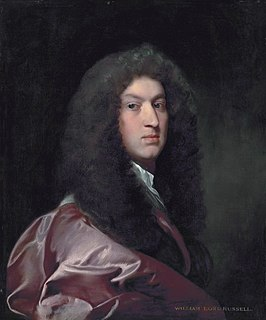 William Russell, Lord Russell English politician executed for treason