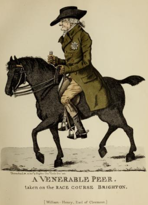 William Fortescue, 1st Earl of Clermont - William Fortescue, 1st Earl of Clermont, 1802 caricature