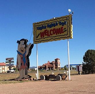 Valle, Arizona - Bedrock City entrance