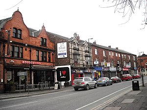 Fallowfield - Image: Wilmslow Road, Fallowfield