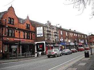 Fallowfield - Image: Wilmslow Road, Fallowfield