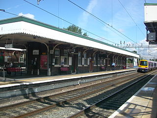 Wilmslow railway station railway station in Wilmslow, England