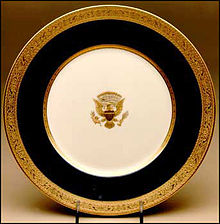 The Wilson Service Introduced In 1918 Was First American Made Presidential Bone China