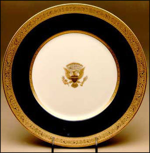Lenox (company) - The Wilson service, introduced in 1918, was the first American-made presidential bone china service.