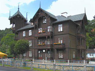 Krynica-Zdrój - Witoldówka Villa