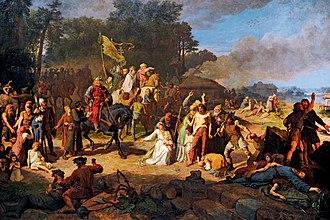 Wendish Crusade - Image: Wojciech Gerson Oplakane apostolstwo