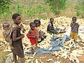 Woman from small village peeling corn - Zambia.jpg
