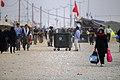 Women on the Arba'een Walk-Mehran city-Iran زنان در پیاده روی اربعین در مرز مهران- عکاسی خبری 43.jpg