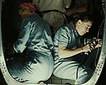 Women workers detail, Working inside fuselage of a Liberator Bomber1a34928v (cropped).jpg
