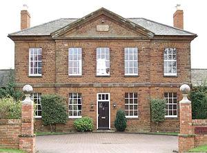Wootton, Northamptonshire - Image: Wootton Barracks Northampton