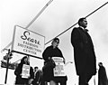 Workers strike against unfair labor practices outside a Sears Fashion Distribution Center. (5279697544).jpg
