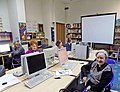 Workshop in project Viki Senior in the Belgrade city Library 01.jpg