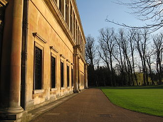 Ketton stone - The Wren Library, Trinity College, Cambridge, built with Ketton Stone