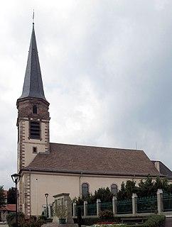 Wuenheim Commune in Grand Est, France
