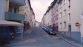 Wuppertal Barmen - Ecke Hohenstein - Adlerstrasse (Blickrichtung Osten) - 2003.png