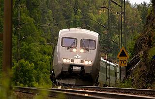 X 2000 train service brand