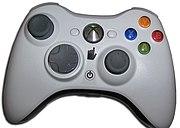 Xbox 360 wireless controller.