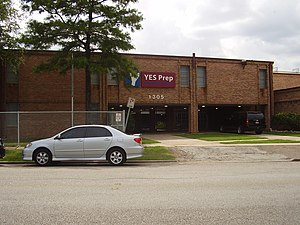 YES Prep Public Schools - Image: YES Prep Fifth Ward