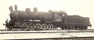 Russian locomotive class Ye - Locomotive Ел-884 at the Baldwin factory, before shipment.
