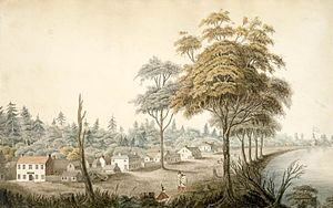 History of Toronto - Front Street in 1804