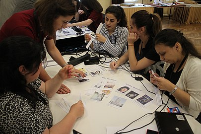 Youth WikiCamp, summer 2018, Armenia 01.jpg
