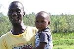 Youth bunge member, Moris Odhiambo with his daughter Shiela (15659099957).jpg