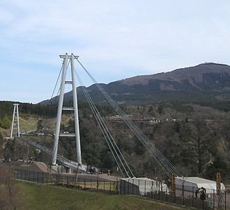 Kokonoe, Ōita - The Kokonoe Yume (Dream) Suspension Bridge