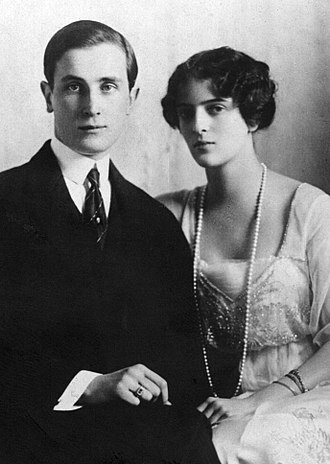 Princess Irina Alexandrovna of Russia - Princess Irina of Russia and her husband, Prince Felix Yusupov