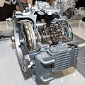 ZF 9-speed automatic transmission front-right 2013 Tokyo Motor Show.jpg
