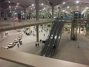Queen Alia International Airport - The new airport