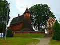 Zabytkowy kościółek w Trzcinicy koło Jasła - panoramio.jpg