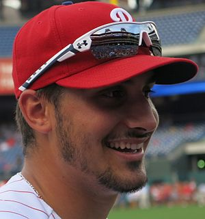 Zach Eflin - Eflin with the Phillies in 2016